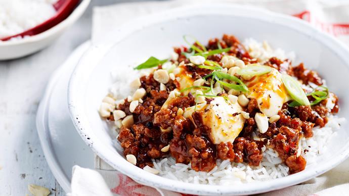 Sichuan ma po tofu
