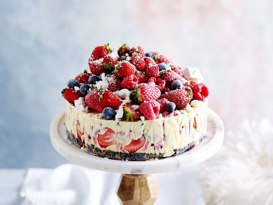 "**[Frozen Christmas ice-cream cake](https://www.womensweeklyfood.com.au/recipes/the-night-before-frozen-christmas-ice-cream-cake-29619|target=""_blank"")** This quick recipe for frozen Christmas ice-cream cake is loaded fruits and berries and brandy. Make it the night before for a hassle-free Christmas spent with your friends and family."