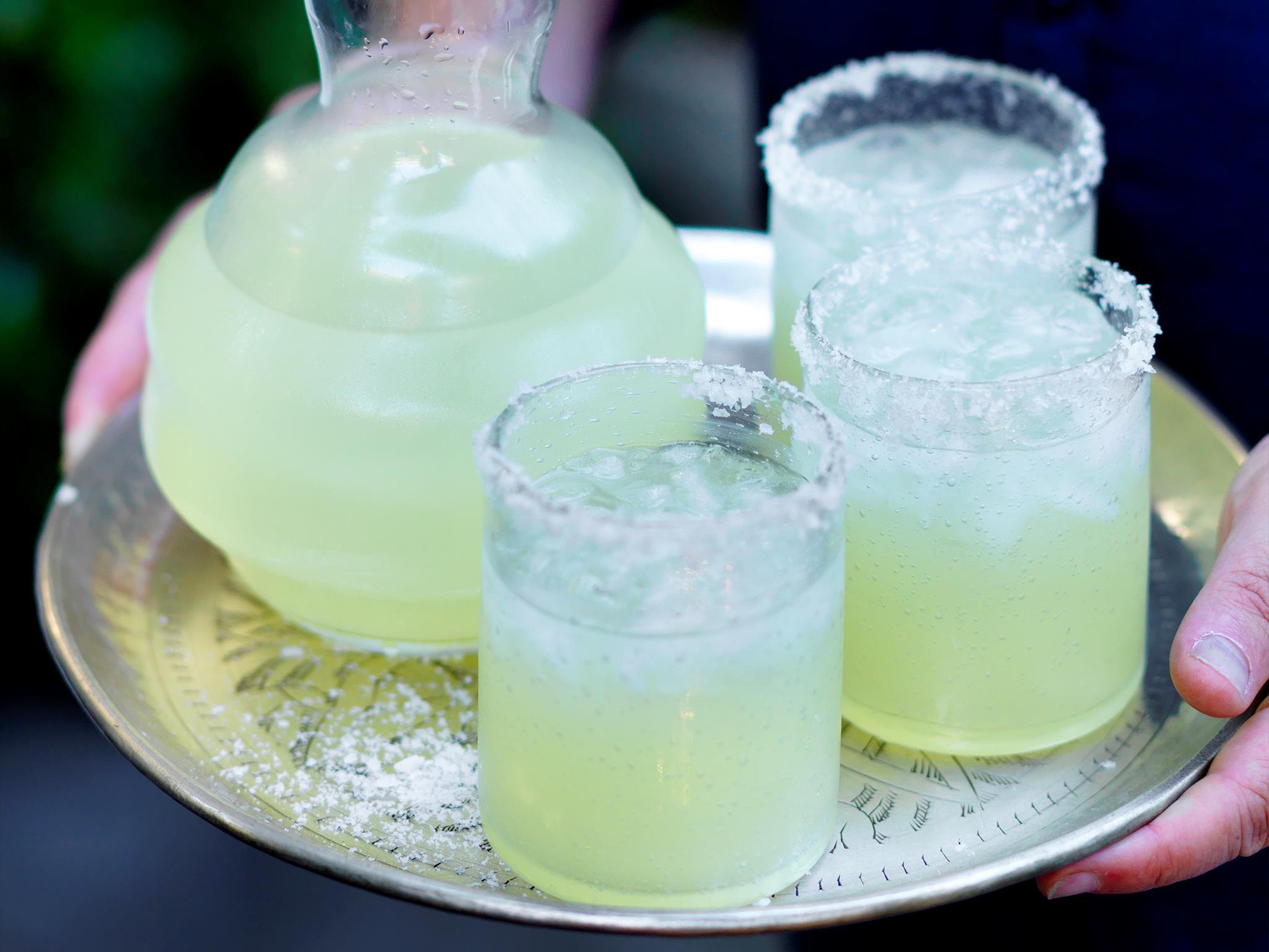 "[Deborah Hutton's margarita recipe.](https://www.womensweeklyfood.com.au/recipes/deborah-huttons-margarita-recipe-29623|target=""_blank"")"