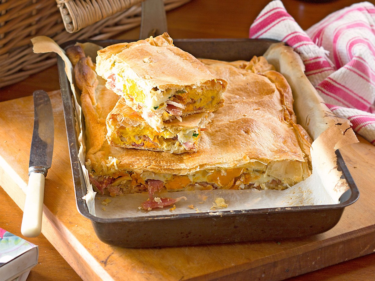 Classic bacon and egg pie recipes