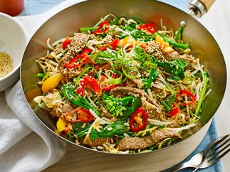 Five-spice beef fried rice
