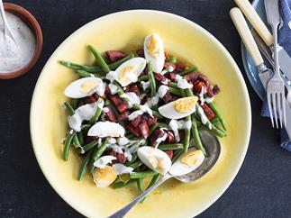 Spicy chorizo & green beans