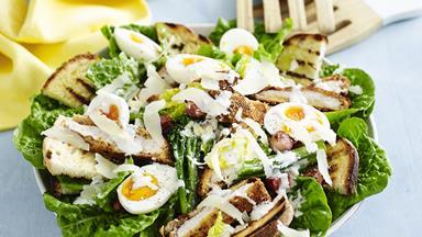 Chicken & cos caesar salad