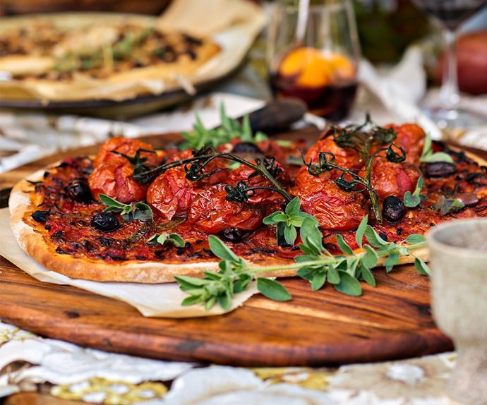 Provençal tomato tart