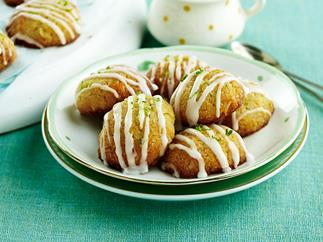 Gluten-free coconut & lime cookies