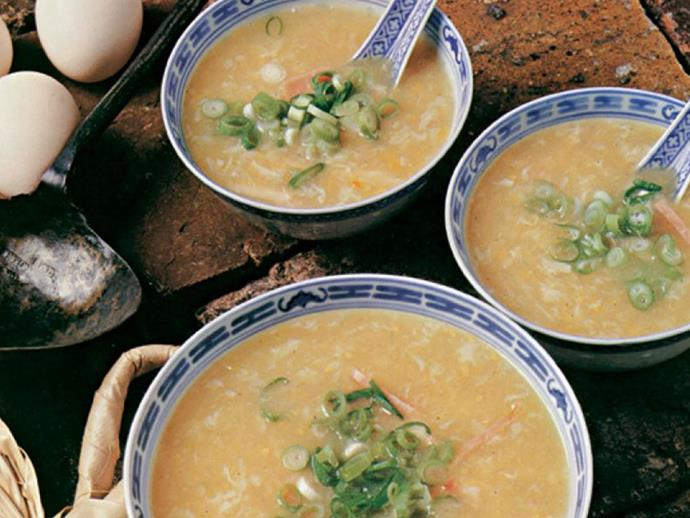 "**[Chicken and corn soup](http://www.foodtolove.com.au/recipes/chicken-and-corn-soup-31565|target=""_blank""):** Remember this retro recipe from [The Australian Women's Weekly's *Chinese Cooking Class Cookbook*](https://www.nowtolove.com.au/lifestyle/food-drinks/womens-weekly-chinese-cooking-class-cookbook-recipes-45085