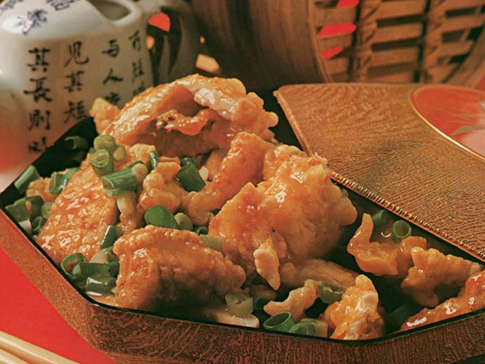 "**[Lemon chicken:](https://www.womensweeklyfood.com.au/recipes/lemon-chicken-1471|target=""_blank"")** Pairing crispy chicken with a slightly sweet and slightly sour sauce this one is a *Women's Weekly* classic the family will love."