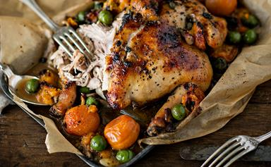Lucy's apricot chicken