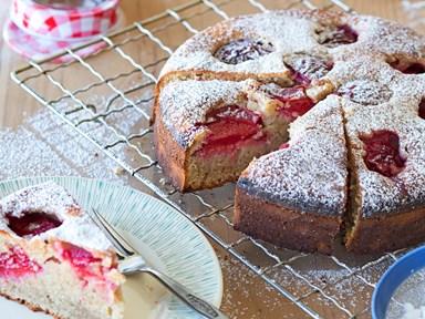Mum's plum cake