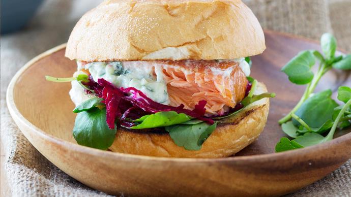 Oh!-mega salmon burgers