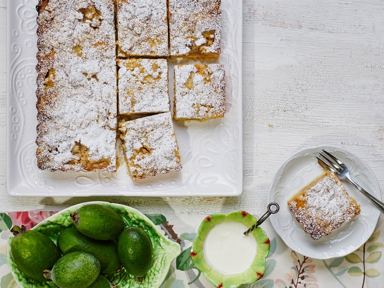 """[This feijoa and custard crumble tart is a must-try.](http://www.foodtolove.co.nz/recipes/feijoa-and-custard-crumble-tart-22147