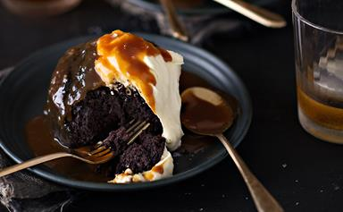 Little chocolate whisky cakes