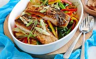 Sweet & sour snapper