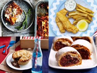 12 points! Food from the Eurovision finalists