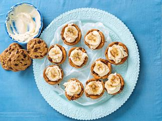 Baby banoffee cups