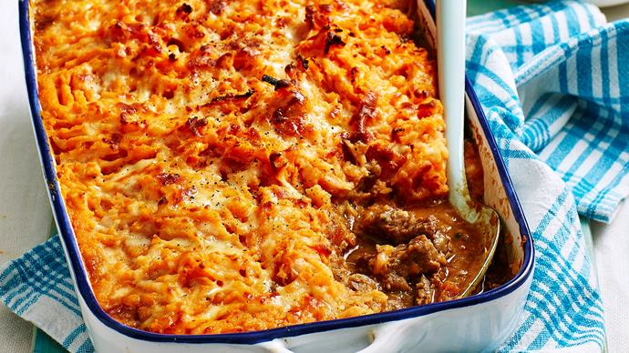 Lamb and lentil shepherd's pie