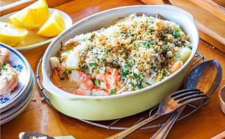 Family fish dish