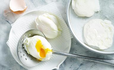 How to make perfectly poached eggs