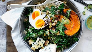 Winter vegie bowl