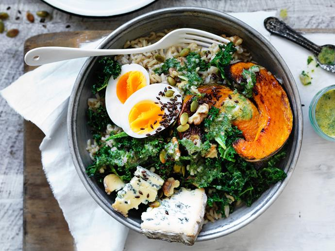 "**[Winter vegie bowl](https://www.womensweeklyfood.com.au/recipes/winter-vegie-bowl-1556|target=""_blank"")**  When your body is crying out for a healthy, nourishing lunch or dinner, but the weather is cool, this beautiful winter vegie bowl comes in very handy."