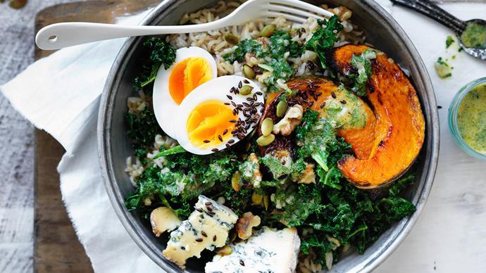 Winter vegie bowl