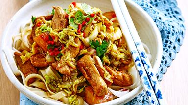 Easy pork and pineapple stir-fry
