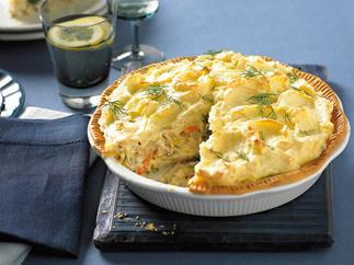 Tuna shepherd's pie