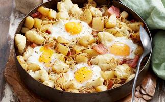 Potato and cauliflower hash