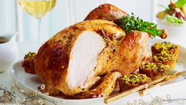 Paris butter roast turkey