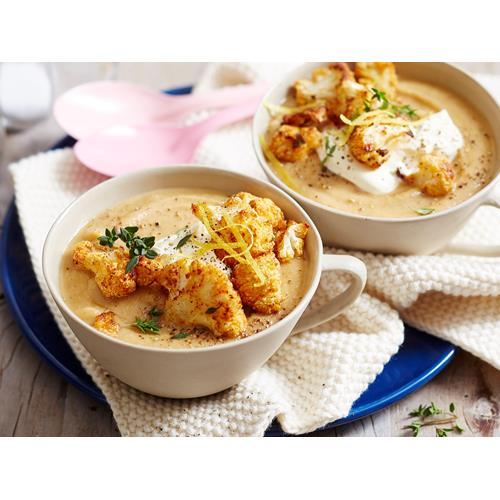 Roasted Cauliflower Soup Recipes Food Network