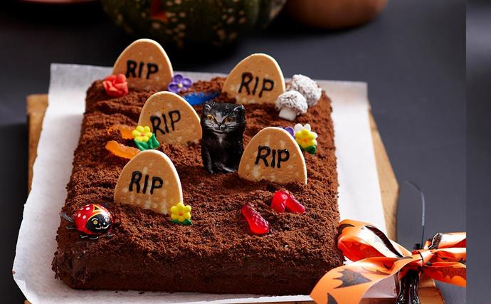 Tombstone brownies