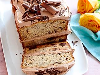 Banana chocolate-chip loaf