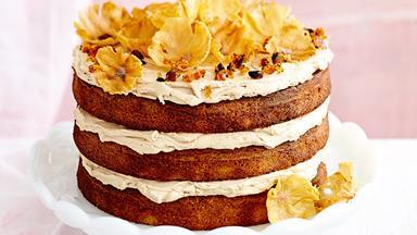 Impressive pineapple coffee cake