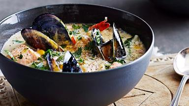 Sensational seafood chowder recipes