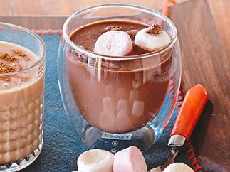 Homemade Mexican hot chocolate