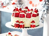 Santa Claus Christmas ice-cream cake
