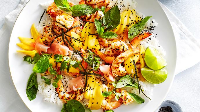 Women's Weekly prawn recipes