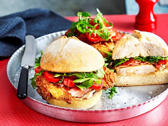 Our best-ever chicken burger