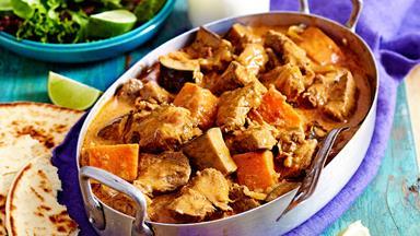 Slow-cooker coconut beef vindaloo