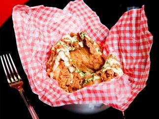 The Hideaway's buttermilk fried chicken