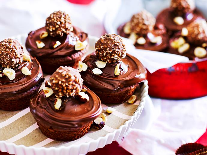 """For those of you who love Nutella, you simply can't go past these indulgent [chocolate and hazelnut cupcake](https://www.womensweeklyfood.com.au/recipes/chocolate-nut-cupcakes-1654