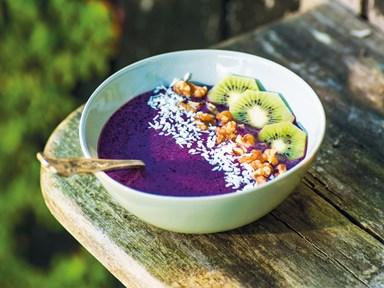 Purple power breakfast bowl