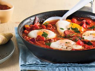 Spanish egg ragout
