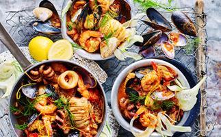 Spectacular seafood recipes