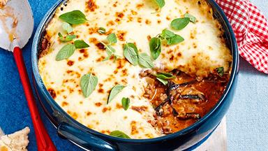 Easy lamb mince moussaka