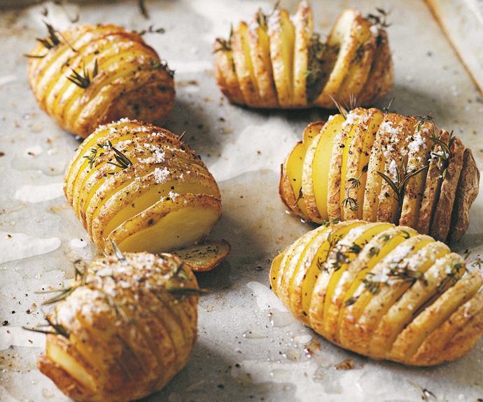 Manu Feildel's duck fat roast potatoes