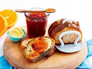 Cara cara navel orange and vanilla marmalade