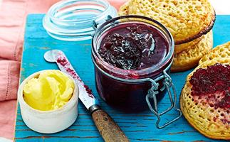 Red grape jelly