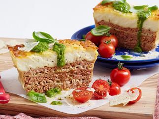 Lasagne meatloaf