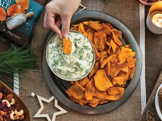 Cucumber and dill yoghurt dip